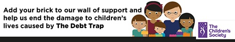 The Children's Society - when it comes to debt, we�re on the side of children.